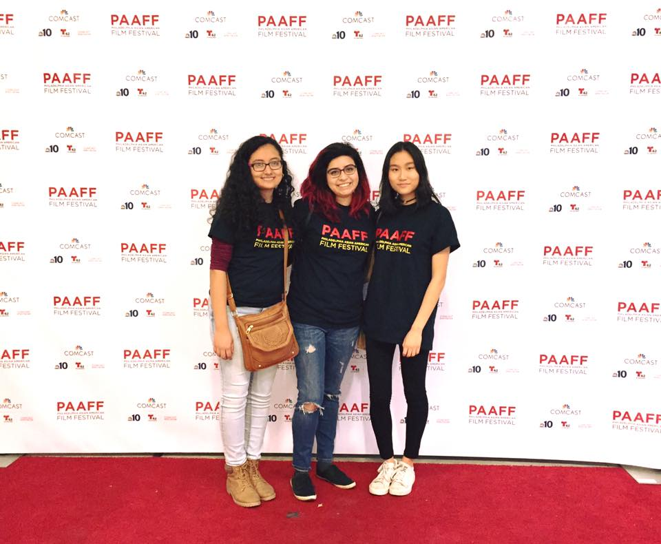 Students from ASA and Filmmakers Association volunteering at the Philadelphia Asian American Film Festival!!